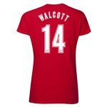 Arsenal Walcott 14 Women's T-Shirt (Red)