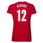 Arsenal Giroud 12 Women's T-Shirt (Red)