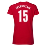 Arsenal Oxlade-Chamberlain 15 Women's T-Shirt (Red)
