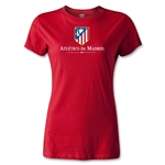 Atletico Madrid Crest Women's T-Shirt (Red)