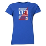 Atletico Madrid El Atleti Women's T-Shirt (Royal)