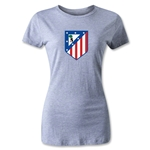 Atletico Madrid Crest Women's T-Shirt (Gray)