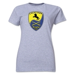 Pleasanton Cavaliers Rugby Women's T-Shirt (Gray)