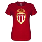 AS Monaco Women's Soccer T-Shirt (Red)