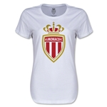 AS Monaco Women's Soccer T-Shirt (White)