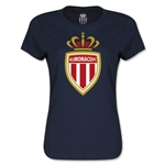 AS Monaco Women's Soccer T-Shirt (Navy)