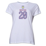 Aston Villa Benteke Women's T-Shirt (White)