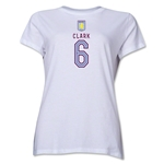 Aston Villa Clark Women's T-Shirt (White)