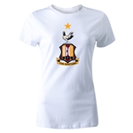 Bradford City Women's Crest T-Shirt (White)