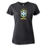 Brazil Women's T-Shirt (Dark Gray)