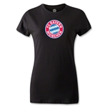 Bayern Munich Women's T-Shirt (Black)