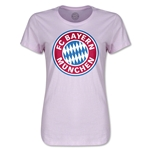 Bayern Munich Women's T-Shirt (Pink)