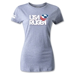 USA Rugby Women's Logo T-Shirt (Gray)