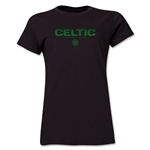 Celtic Football Club Women's T-Shirt (Black)