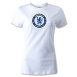 Chelsea Crest Women's T-Shirt (White)