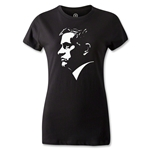 Chelsea Mourinho Portrait Women's T-Shirt (Black)