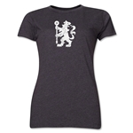 Chelsea Distressed Lion Women's T-Shirt (Dark Gray)