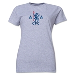 Chelsea Retro Women's T-Shirt (Gray)
