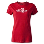CONCACAF Gold Cup 2013 Women's T-Shirt (Red)