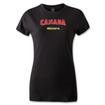 CONCACAF Gold Cup 2013 Women's Canada T-Shirt (Black)