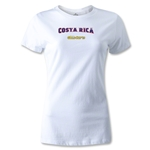 CONCACAF Gold Cup 2013 Women's Costa Rica T-Shirt (White)