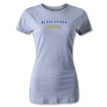 CONCACAF Gold Cup 2013 Women's El Salvador T-Shirt (Gray)