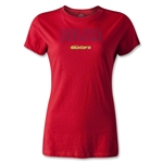 CONCACAF Gold Cup 2013 Women's Belize T-Shirt (Red)