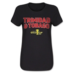 Trinidad & Tobago CONCACAF Gold Cup 2015 Women's Big Logo T-Shirt (Black)