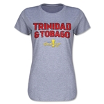 Trinidad & Tobago CONCACAF Gold Cup 2015 Women's Big Logo T-Shirt (Grey)