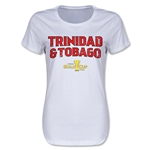 Trinidad & Tobago CONCACAF Gold Cup 2015 Women's Big Logo T-Shirt (White)
