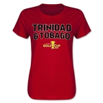 Trinidad & Tobago CONCACAF Gold Cup 2015 Women's Big Logo T-Shirt (Red)