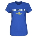 Guatemala CONCACAF Gold Cup 2015 Women's Big Logo T-Shirt (Royal)
