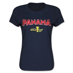 Panama CONCACAF Gold Cup 2015 Women's Big Logo T-Shirt (Navy)