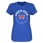 CONCACAF Gold Cup 2015 Costa Rica Women's T-Shirt (Royal)