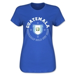CONCACAF Gold Cup 2015 Guatemala Women's T-Shirt (Royal)