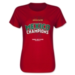 Mexico Gold Cup Celebration Women's T-Shirt (Red)
