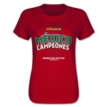 Mexico Gold Cup Celebration Spanish Women's T-Shirt