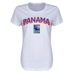 Panama CONCACAF 2015 Men's Olympic Qualifying Women's T-Shirt (White)