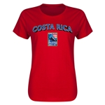 Costa Rica CONCACAF 2015 Men's Olympic Qualifying Women's T-Shirt (Red)