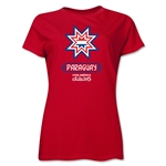 Paraguay Copa America 2015 Banderas Women's T-Shirt (Red)