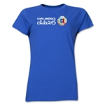Copa America 2015 Core Landscape Women's T-Shirt (Royal)