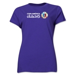 Copa America 2015 Core Landscape Women's T-Shirt (Purple)