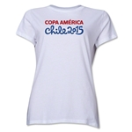 Copa America 2015 Event Title Women's T-Shirt (White)