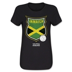 Jamaica Copa America 2015 Badge Women's T-Shirt (Black)