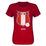 Peru Copa America 2015 Badge Women's T-Shirt (Red)