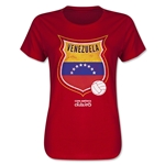 Venezuela Copa America 2015 Badge Women's T-Shirt (Red)