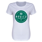 Mexico Copa America 2015 Women's T-Shirt (White)