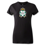 Club Santos Laguna Women's T-Shirt (Black)