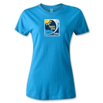 FIFA Beach World Cup 2013 Women's Emblem T-Shirt (Turquoise)