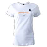 FIFA Beach World Cup 2013 Netherlands Women's T-Shirt (White)
